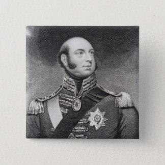 Prince Edward, Duke of Kent and Strathearn 15 Cm Square Badge