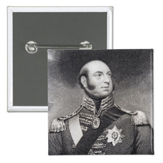 Prince Edward, Duke of Kent and Strathearn 15 Cm Square Badge