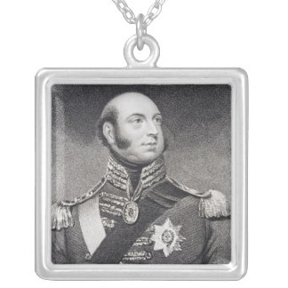 Prince Edward, Duke of Kent and Strathearn Square Pendant Necklace