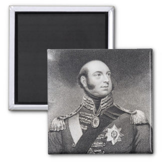 Prince Edward, Duke of Kent and Strathearn Square Magnet