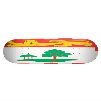 Prince Edward Island Flag Skateboard
