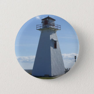 Prince Edward Island-Lighthouse 6 Cm Round Badge