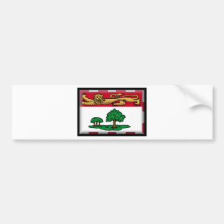 Prince Edward Islands (Canada) Flag Bumper Sticker
