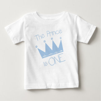 Prince First Birthday Baby T-Shirt