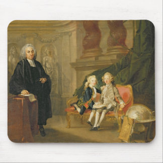 Prince George (1738-1820) and Prince Edward August Mouse Pad