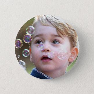 Prince George of Cambridge 6 Cm Round Badge