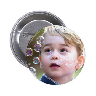 Prince George of Cambridge 6 Cm Round Badge
