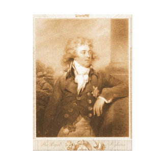Prince George of Wales 1792 Gallery Wrap Canvas