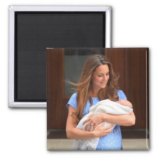 Prince George Royal Baby Refrigerator Magnet