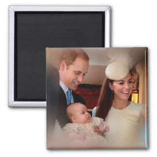 Prince George Royal Family Magnet