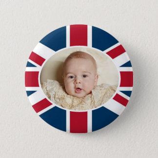 Prince George - William & Kate 6 Cm Round Badge