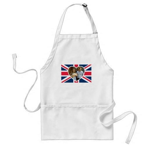 Prince George - William & Kate Aprons