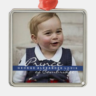 Prince George - William & Kate Christmas Ornament