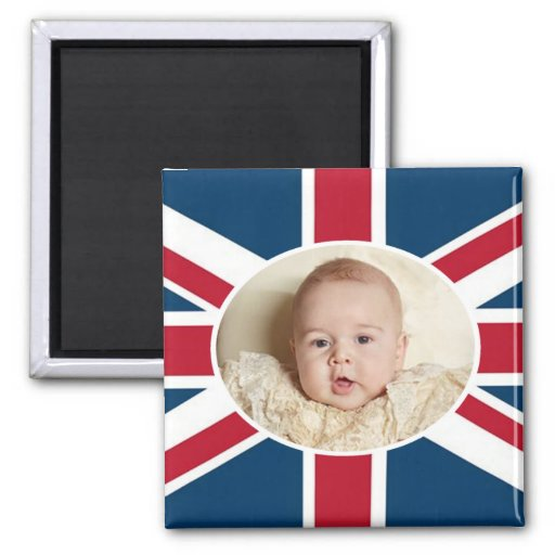 Prince George - William & Kate Magnets