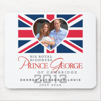 Prince George - William & Kate Mouse Mat