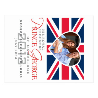 Prince George - William Kate Post Cards