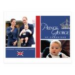 Prince George - William & Kate Postcards