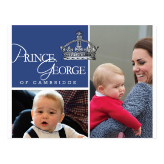 Prince George - William Kate Postcards