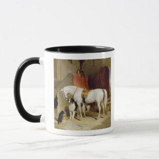 Prince George's Favourites (oil on canvas) Mug