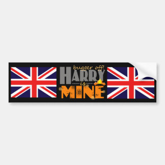 Prince Harry is Mine Bumper Stickers