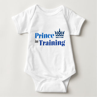 Prince in Training - Royal Baby Baby Bodysuit
