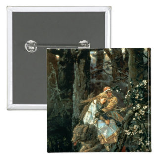 Prince Ivan on the Grey Wolf, 1889 15 Cm Square Badge