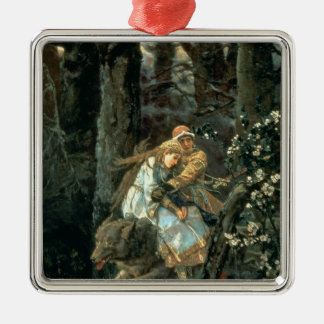 Prince Ivan on the Grey Wolf, 1889 Christmas Ornament