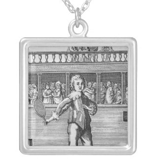 Prince James- Duke of York Silver Plated Necklace