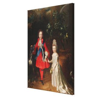 Prince James Francis Edward Stuart Canvas Print