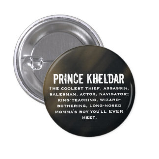 Prince Kheldar 3 Cm Round Badge