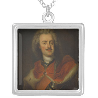 Prince Leopold of Dessau Silver Plated Necklace