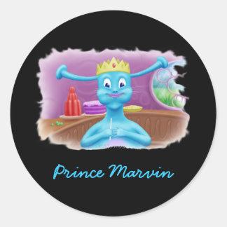 Prince Marvin at Brita s Shop Sticker