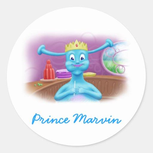 Prince Marvin at Brita's Shop Sticker
