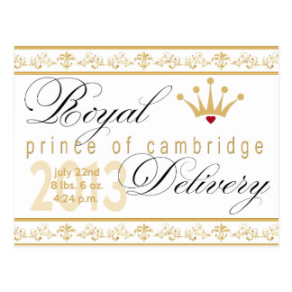 Prince of Cambridge Souvenir Post Card