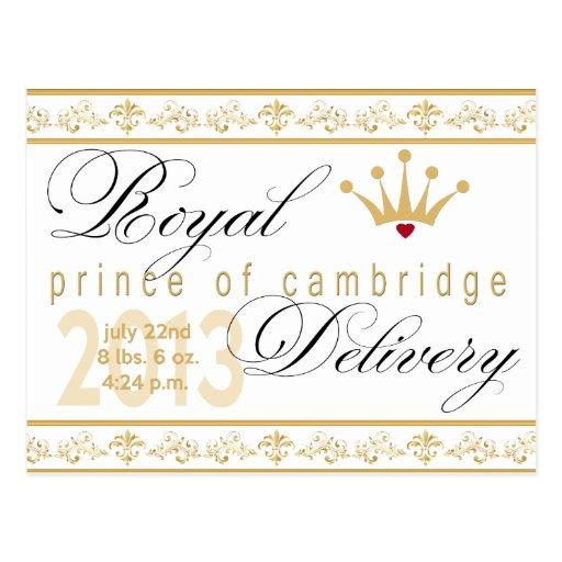 Prince of Cambridge Souvenir Post Card