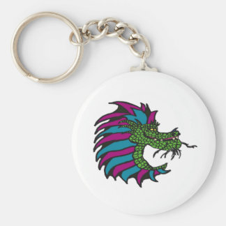 Prince of dragons basic round button key ring