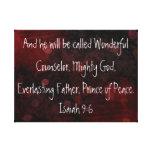 Prince of peace bible verse Isaiah 9:6