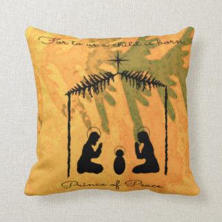 Prince of Peace Nativity Cushion