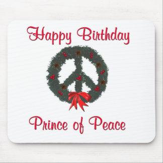 Prince of Peace Wreath Mousepad