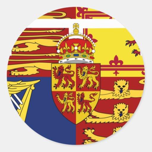 Prince Of Wales, United Kingdom flag Stickers