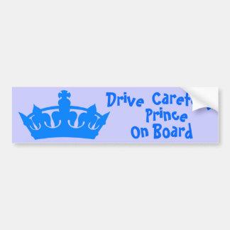 Prince On Board, Bumper Sticker