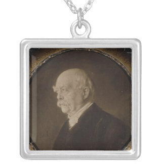 Prince Otto of Bismarck Silver Plated Necklace