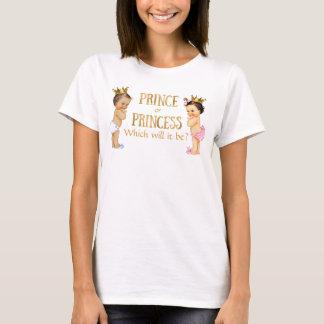 Prince Princess Gender Reveal T-Shirt