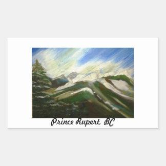 Prince Rupert BC Rectangular Sticker
