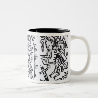 Prince Rupert  Hiding in a Bean Two-Tone Coffee Mug