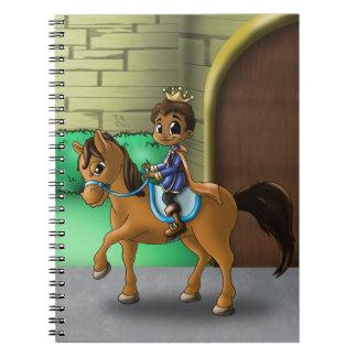 """Prince Salim"" Spiral Notebook"