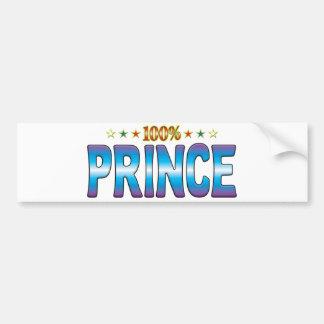 Prince Star Tag v2 Bumper Stickers