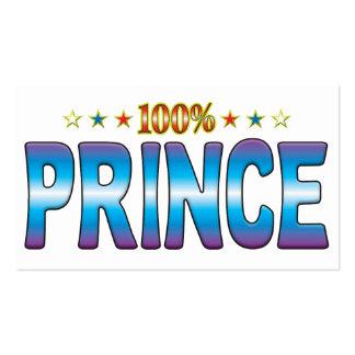 Prince Star Tag v2 Business Card Template