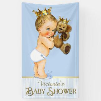 Prince Teddy Bear Baby Shower