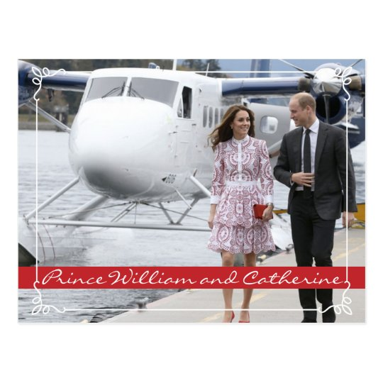 Prince William and Catherine Postcard